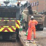 Construction of Five Ways underpass well underway