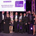 Tram extension scoops engineering award