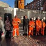 Midland Metro Alliance honours Black Sabbath with new hoarding